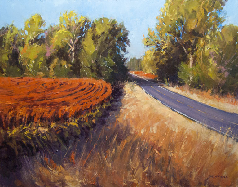 Fields of Autumn  11x14  op  $875