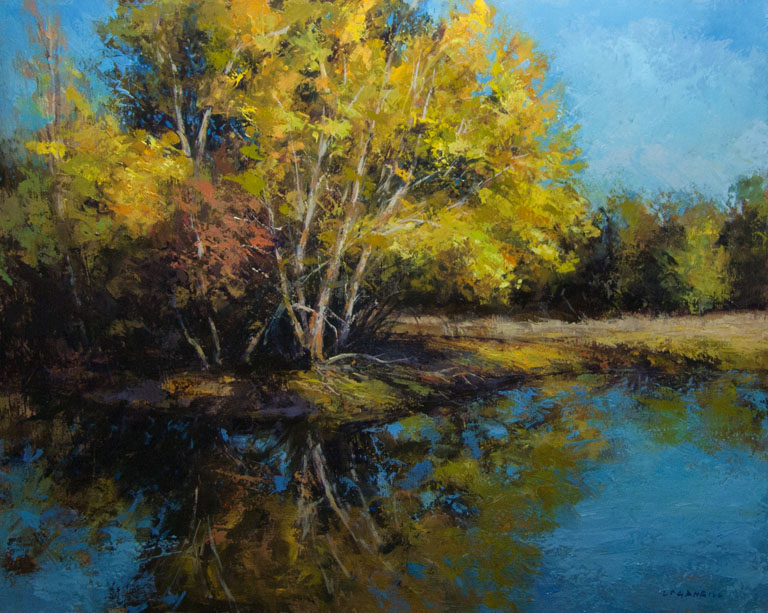 Golden Pond  16x20  op  $1,650