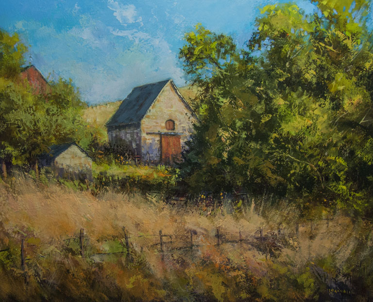 Hidden Ranch  16x20  op  $1,650