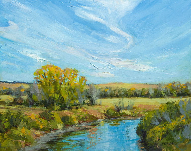 Smoky Hill River  8x10  op  $575