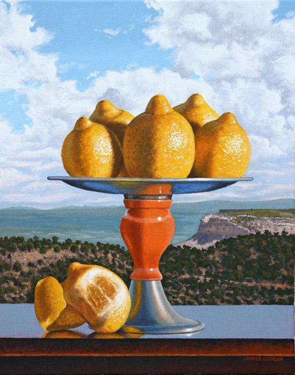 Lemons Over Mesa Verde 16x20 oc $1,400