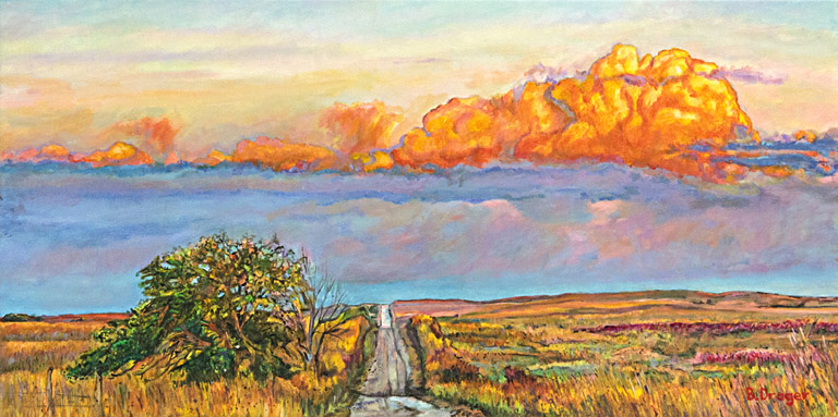 Road to the Clouds  12x24  ac  $800 uf