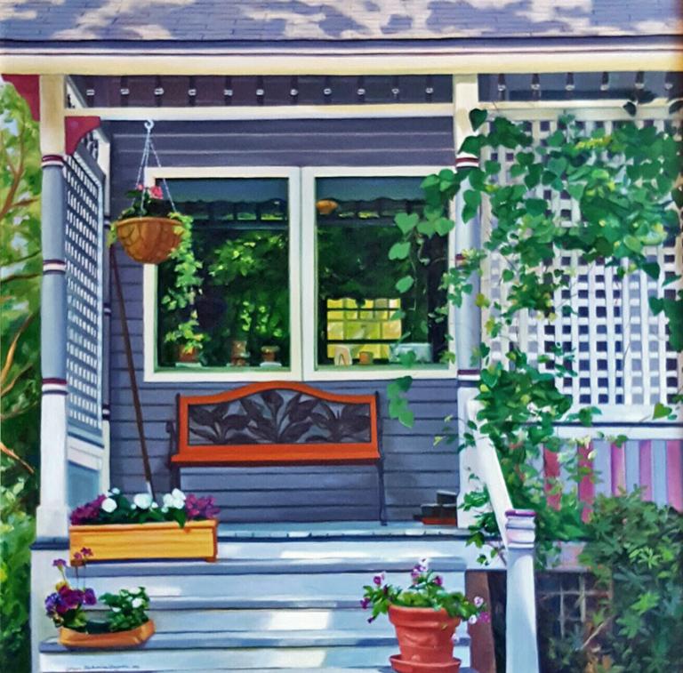 Porch Bench 40x40 oc $1,800