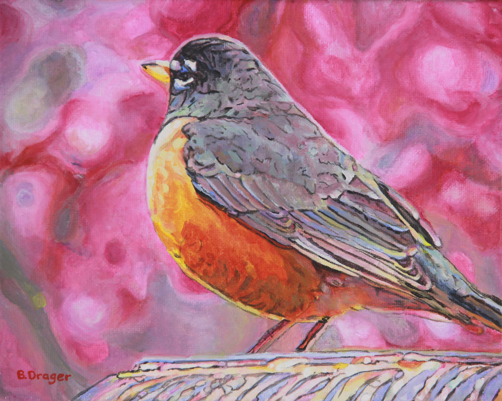 Robin Means Spring  8x10  ac  $210 uf