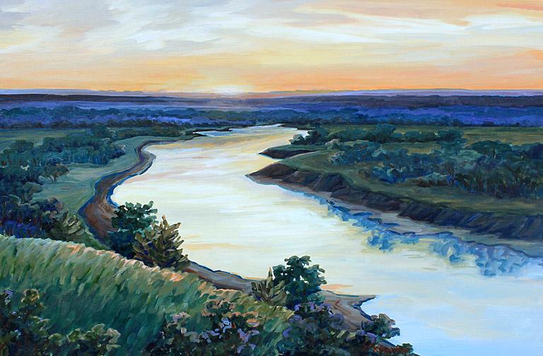 Republican River 24x36 ac $1,825