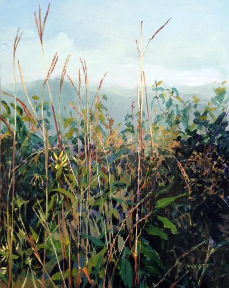 Diana Werts Misty Prairie Morning 30x24 oc $ fr
