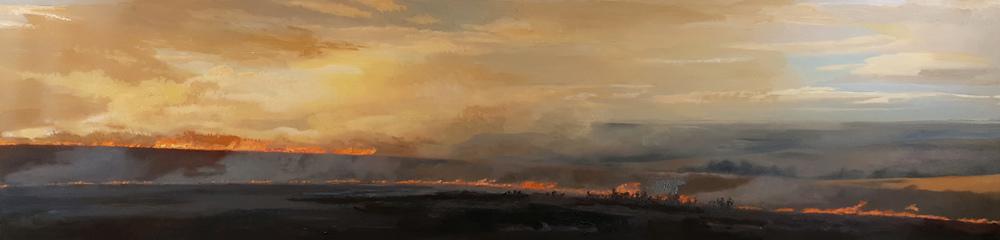 Clive Fullagar Burn II  8x34 op $880 fr