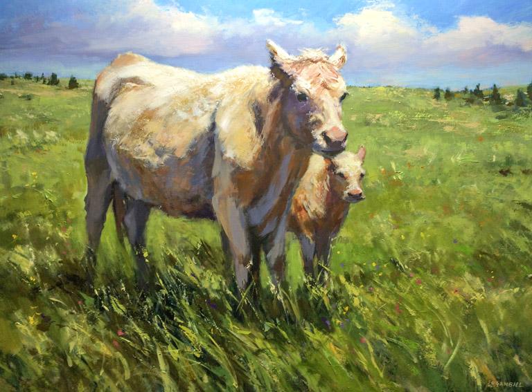 Joseph Loganbill My First Spring  18x24 op $1,975 fr