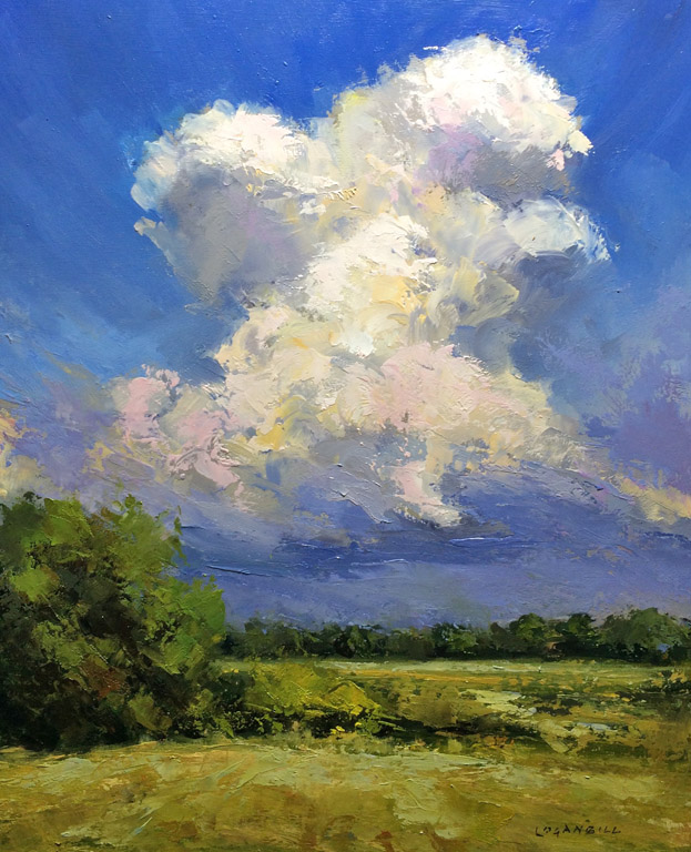 Towering Thunder  12x10  op  $650 uf