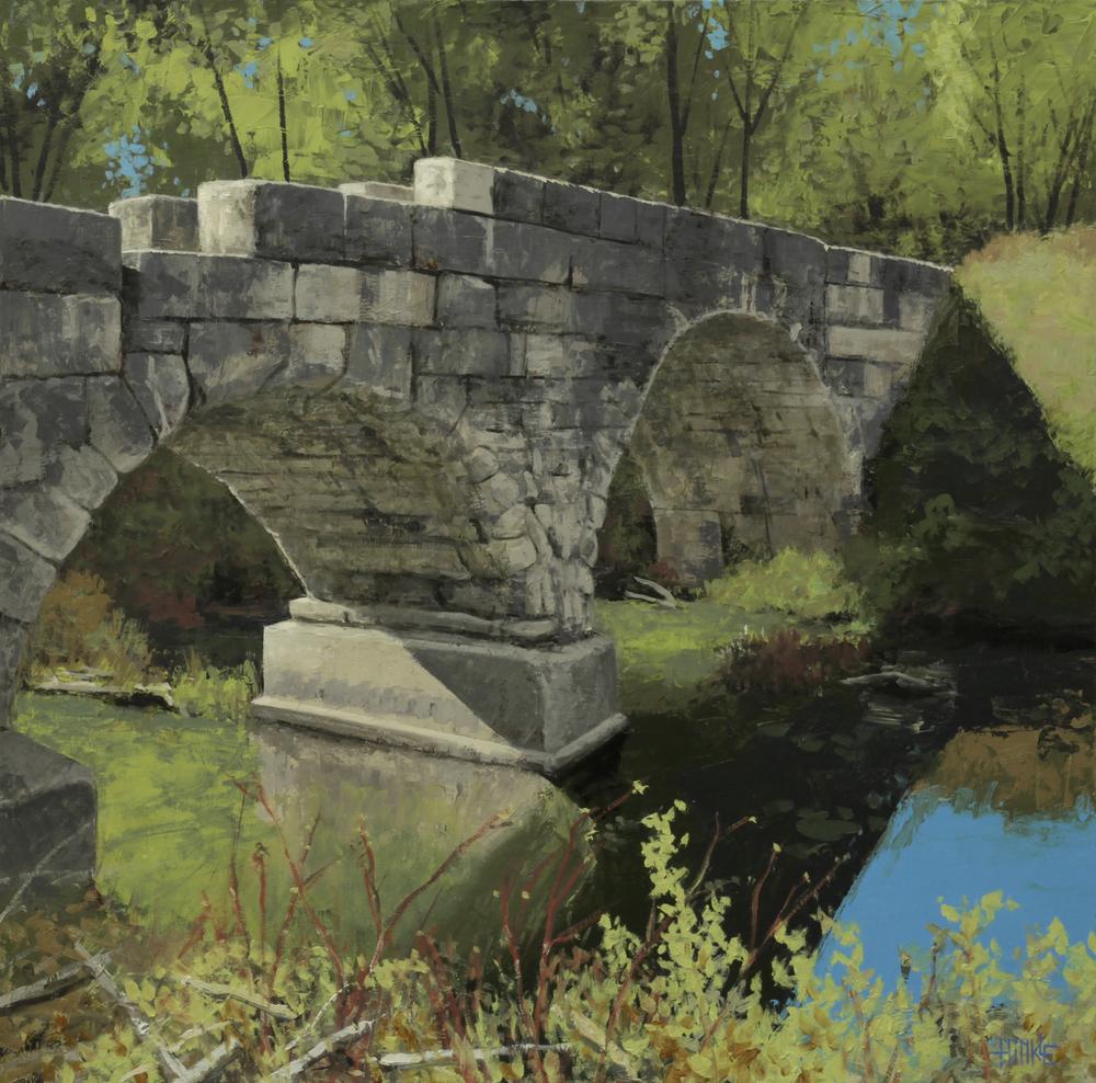 Brian Hinkle Diamond Creek Arches 24x24 oc $2,130 fr