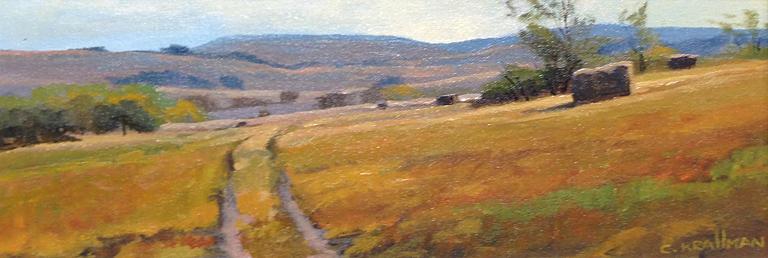 Cally Krallman Prairie Path (2016) 6x16 ac $650