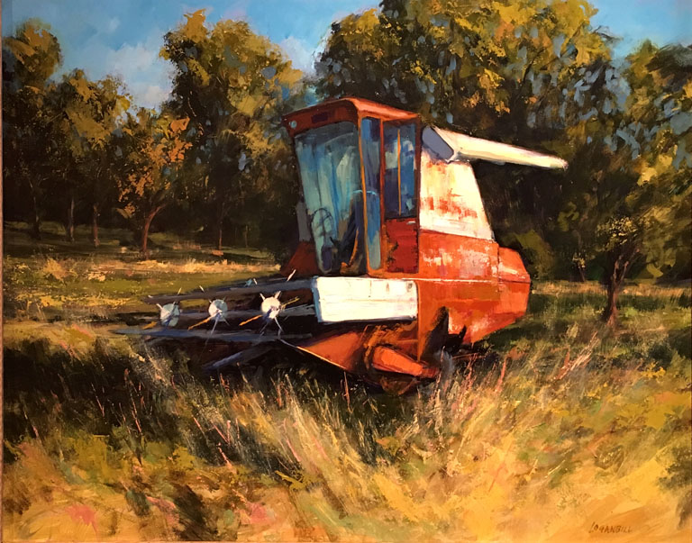 Joseph Loganbill Rest in Place 16x20 op $1,650 fr
