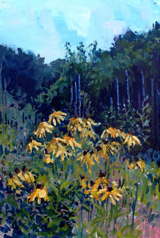Diana Werts Yellows 7.5X11 op $450