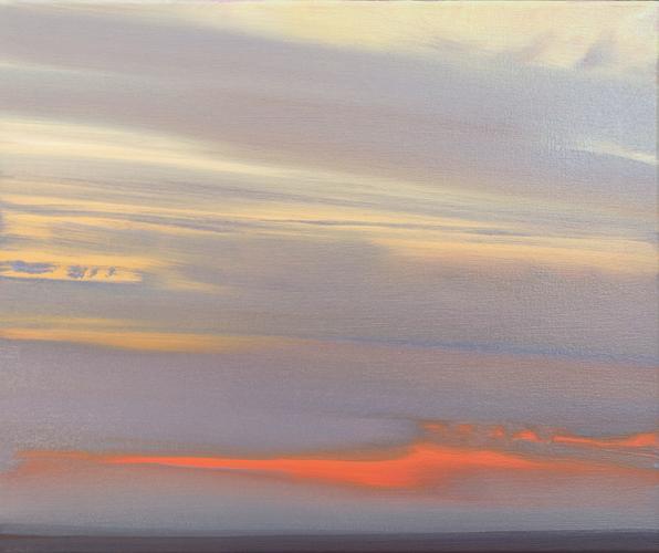 Lisa Grossman Winter's Red 20x24 oc $1,900