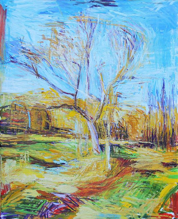 Spring Tree II 20x16 ap $525 fr