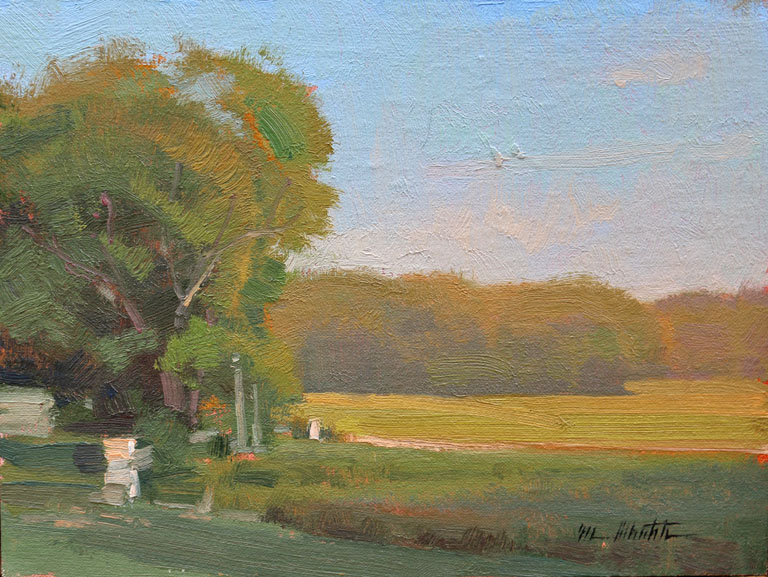 Old Farmstead  6x8  op  $575