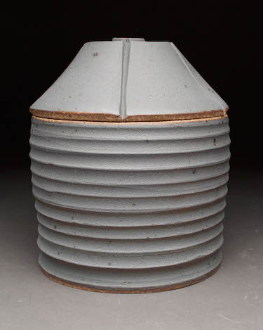 Grain Bin Jar #1 Ryan Swayne 5.5x5.5x6.5  ceramic  $50