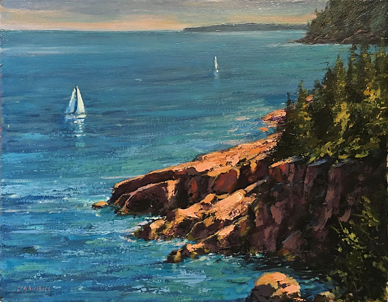 Acadia Afternoon  11x14  op  $875