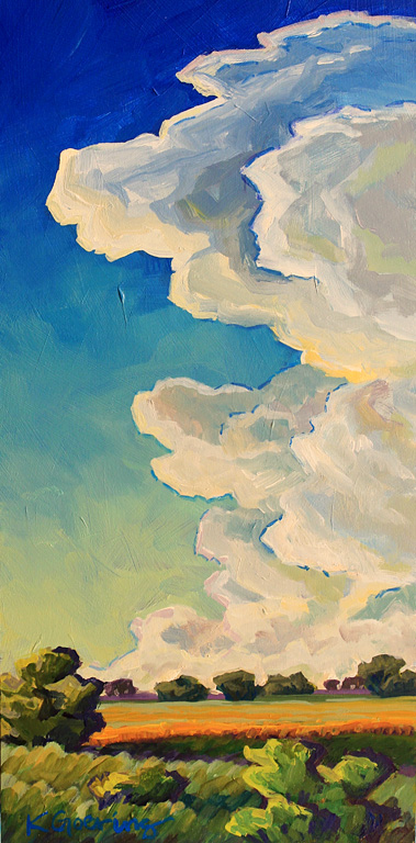 August Sky 12x6 ap $195