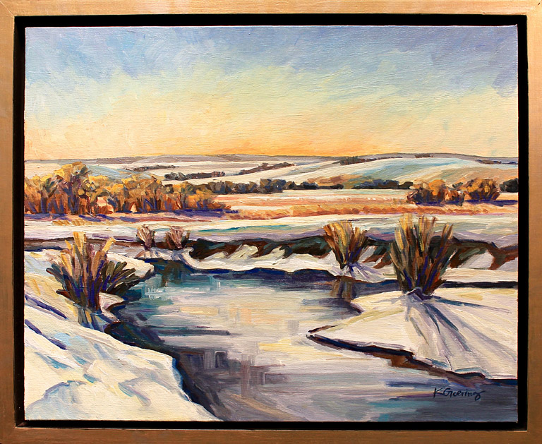 WInter Creek 16x20 ac $900 fr