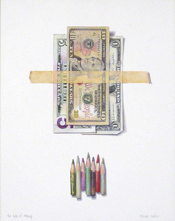 The Color of Money 14x11 ap $500 uf
