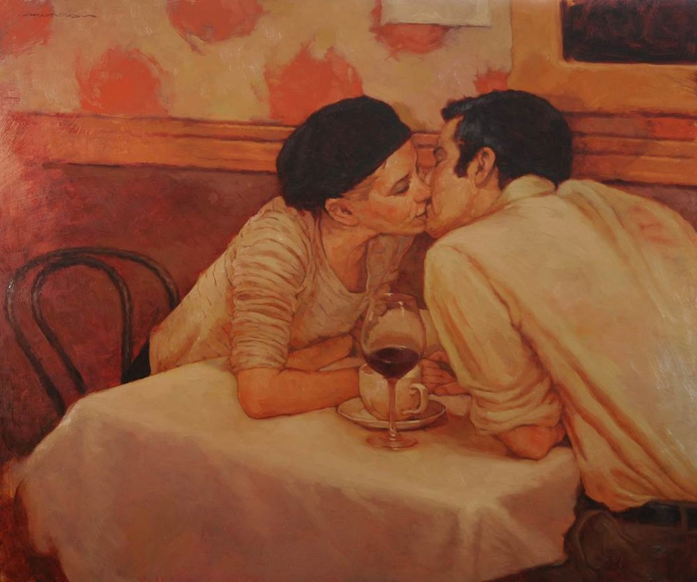 French Cafe 20x24 op $5,500