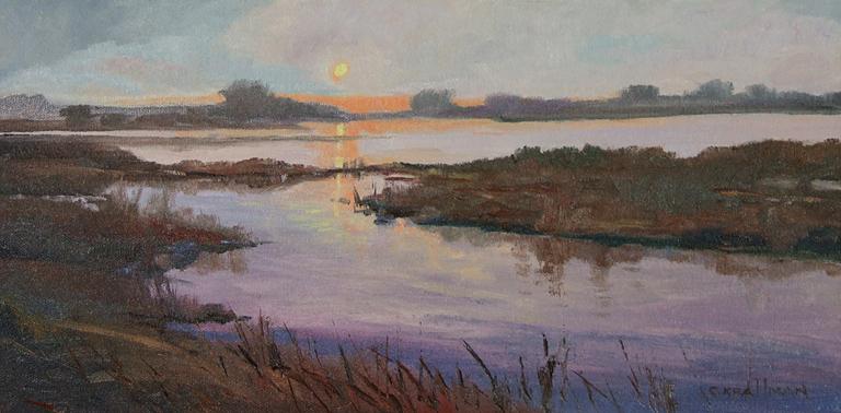 Lavender Mist - Tribute to T Kegler 8x16 oc $685