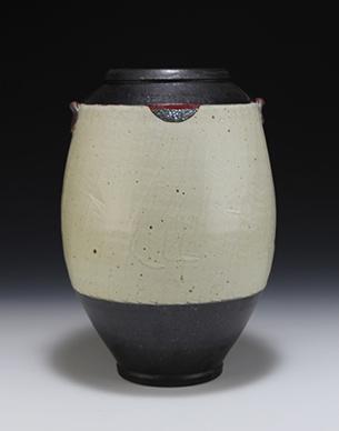 Vase 1 (BB#67) 10.5x7x7 ceramic $125