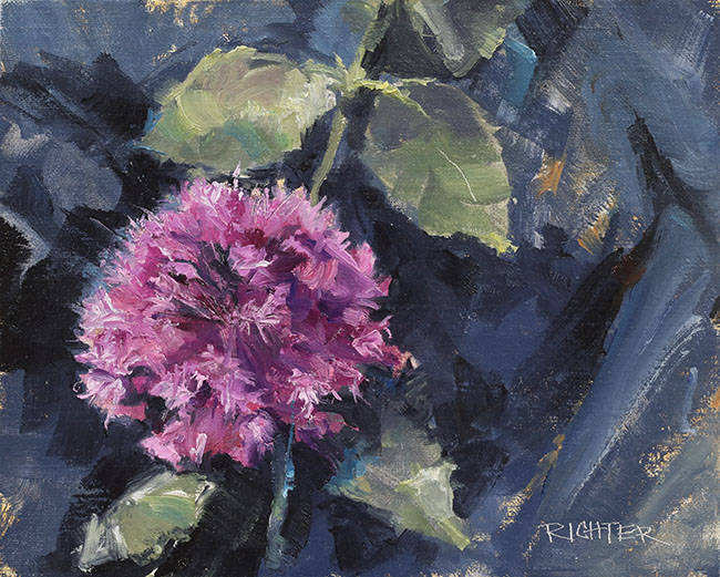 Allium Gift 8x10 oc $650