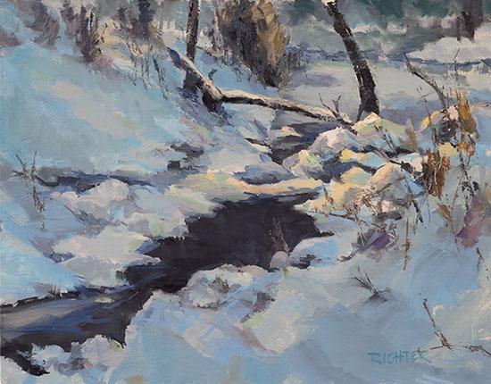 Winter Solace 11x14 oc $980