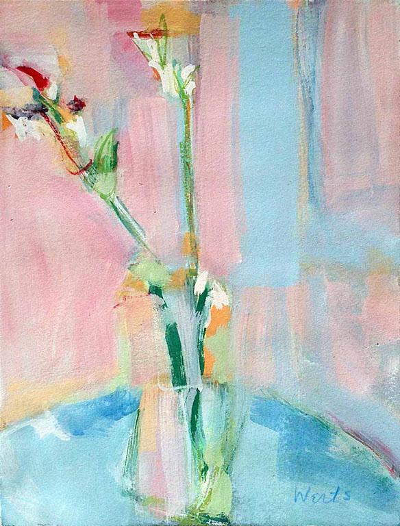 Pink Gladiola 10x8 op $300 uf $410 fr