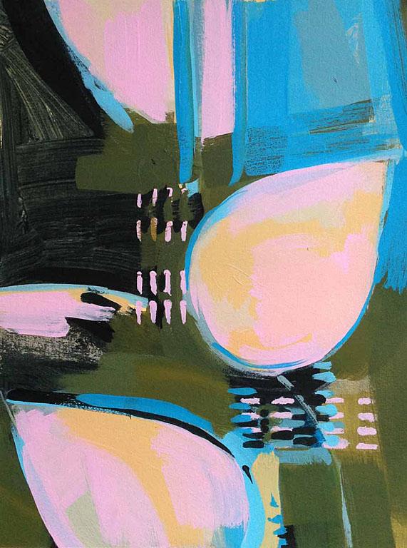 Regeneration - Quartet #2 19x12 op $300 uf $400 fr