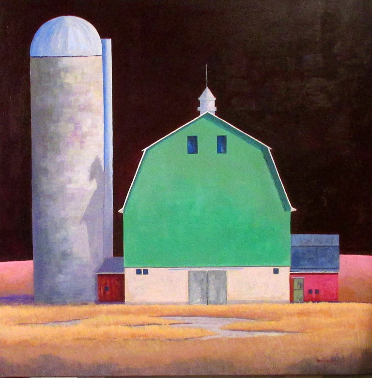Barn with Silo 30x30 acwc $855 uf