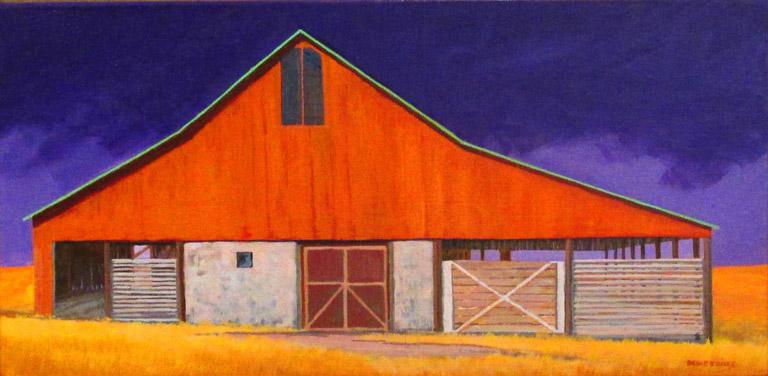 Cattle Barn 12x24 acwc $320 uf