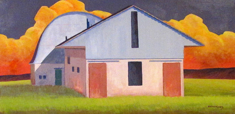 Post Office Ranch Barn   Bruce Ediger 15x30  ac $495 uf