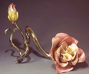 Pink Rose ceramic $5,000