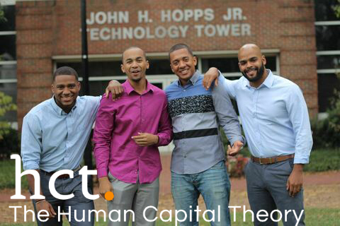 ICOM Founders (l to r) Bryant, Chinua, Jared, and Marcus