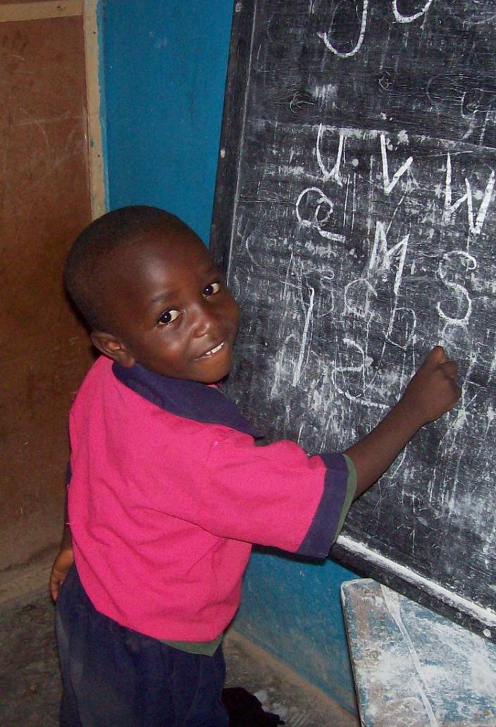 Schoolboy in Jos, Nigeria