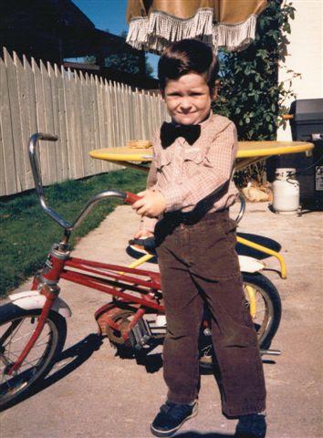 Joe circa 1985.