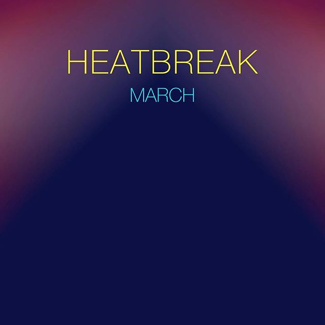 """Happy to announce @heatbreakmusic has a new single out on Spotify, iTunes, etc etc!!! """"March"""" was co-written with @nickyshimz and produced by @lewis_pesacov, mastered by Dave Gardener. Check it out!! #synths #newmusic #jams #newmusicfriday #instagood #instamusic #nowplaying #realdrums #krautrock"""