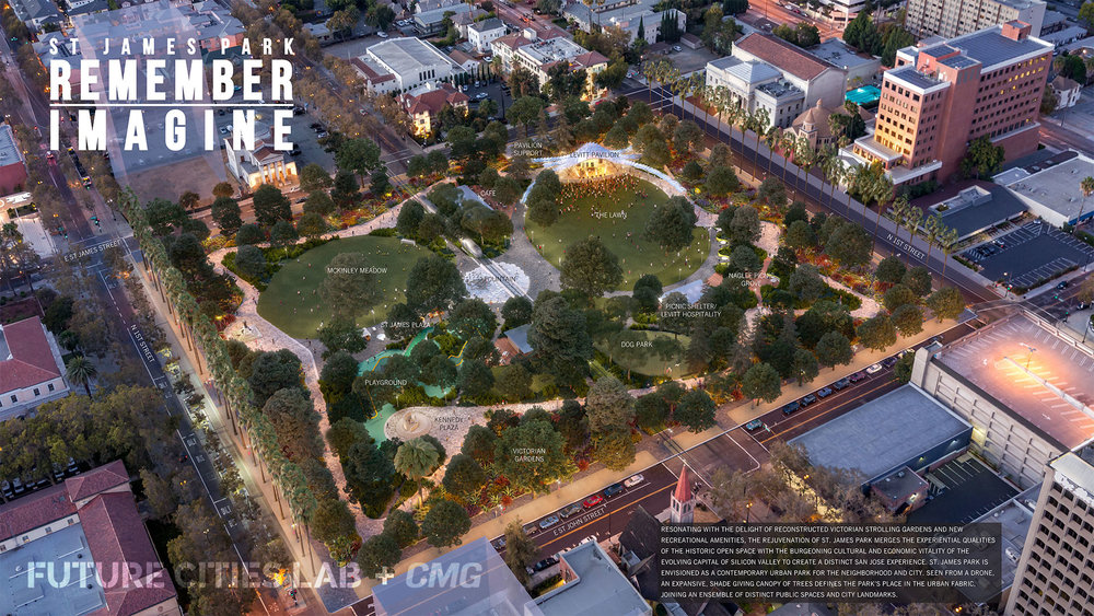 St James Park and Levitt Pavilion by CMG and Future Cities Lab