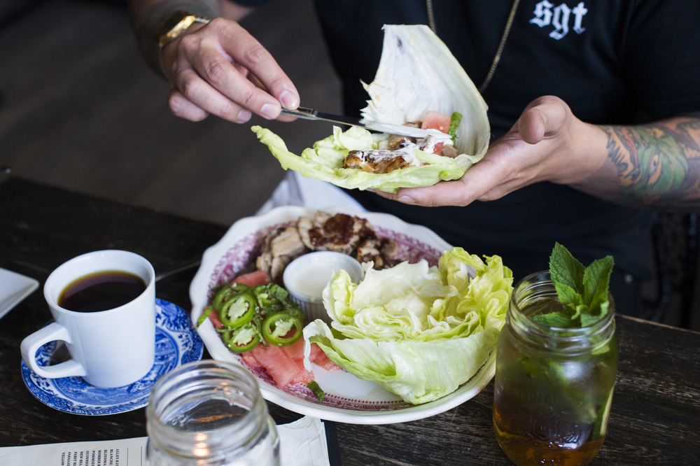 BBQ Pork Lettuce Wraps, one of our most loved dishes.