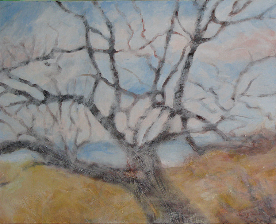 windswept branches