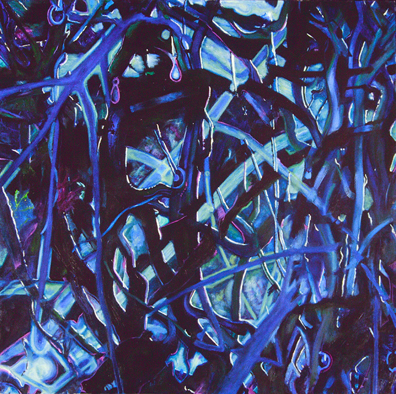blue fibre