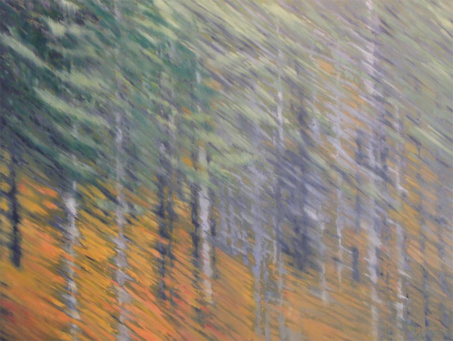 fiery forest