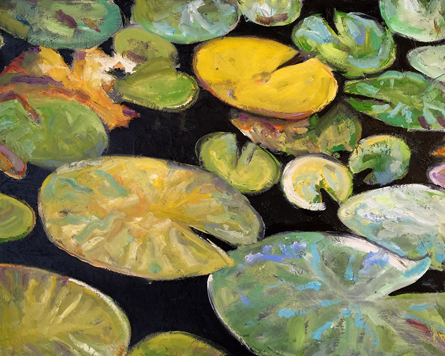 golden lil' pads