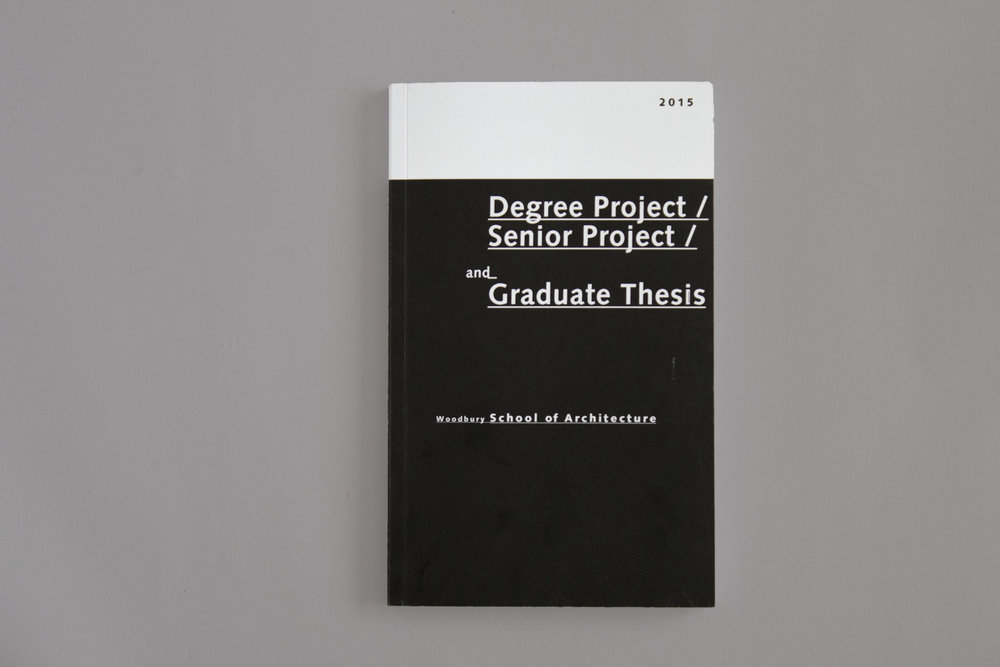 architecture thesis booklet This booklet gives an exhaustive summary of the research directions of the faculty of architecture and can be an invaluable resource to anyone interested in referring to.