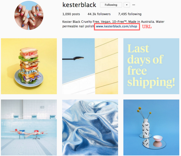 Kester Black Instagram