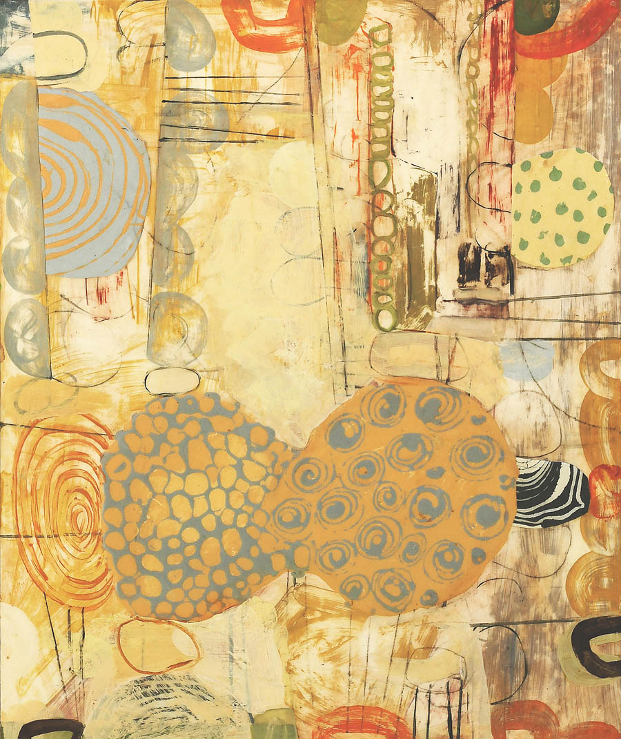 "Burano No. 1  2014  acrylic on panel30"" x 36"""