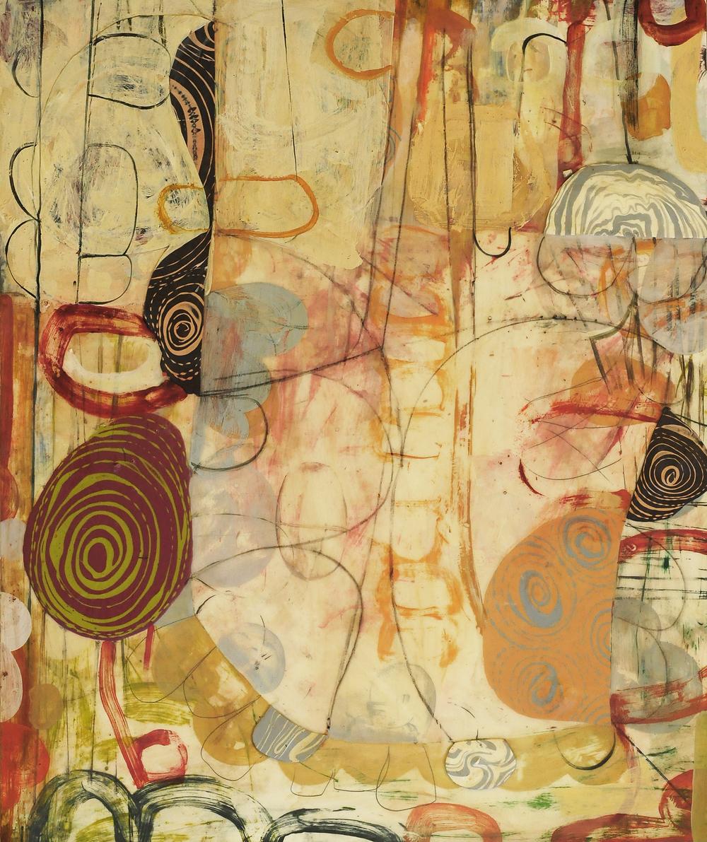 "Burano No. 4  2014  acrylic on panel30"" x 36"